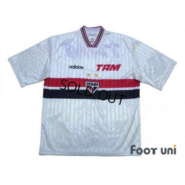 Photo1: Sao Paulo FC 1995-1996 Home Shirt