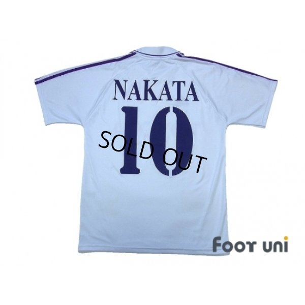 Photo2: Fiorentina 2004-2005 Away Shirt #10 Nakata