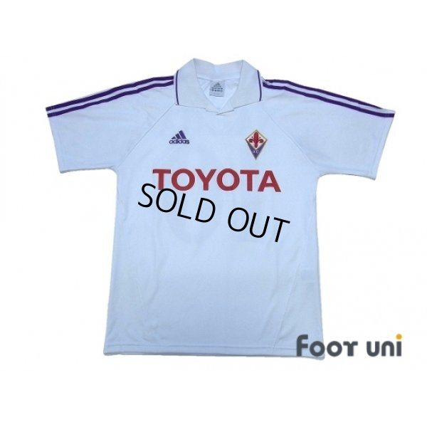 Photo1: Fiorentina 2004-2005 Away Shirt #10 Nakata