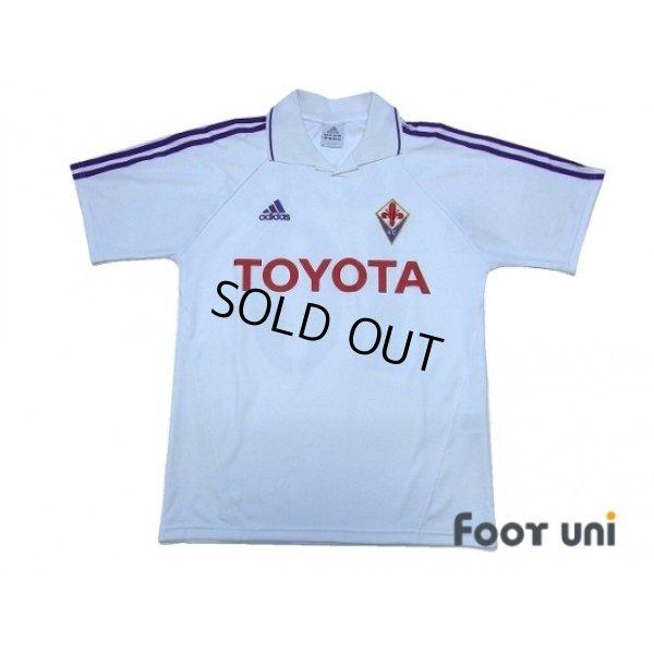 Photo1: Fiorentina 2004-2005 Away Shirt #10 Nakata