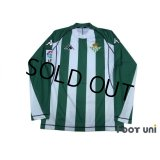 Real Betis 2004-2005 Home L/S Shirt LFP Patch/Badge