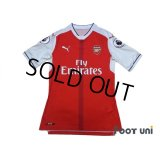 Arsenal 2016-2017 Home Authentic Shirt #11 Ozil