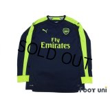 Arsenal 2016-2017 3RD Long Sleeve Shirt #11 Ozil