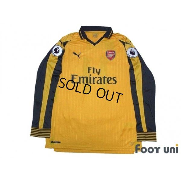 quite nice 85995 659f0 Arsenal 2016-2017 Away Long Sleeve Shirt #11 Ozil - Online ...