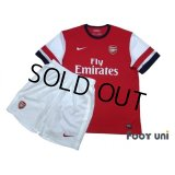Arsenal 2012-2013 Home Shirt and Shorts Set