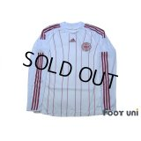 Denmark 2008 Away Authentic Long Sleeve Shirt