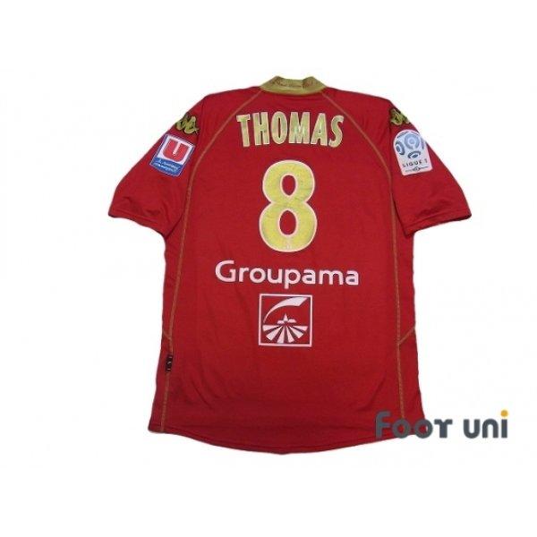 Photo2: Le Mans 2008-2009 Home Shirt #8 Thomas Ligue 1 LFP Patch/Badge
