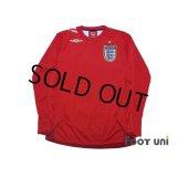 England 2006 Away Long sleeve Shirt