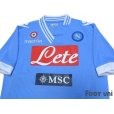 Photo3: Napoli 2012-2013 Home Shirt #17 Hamsik Coppa Italia Patch/Badge (3)
