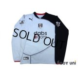 Fulham 2003-2005 Home Long Sleeve Shirt #6 Inamoto Barclaycard Premiership Patch/Badge w/tags
