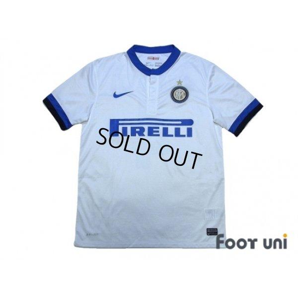 the latest 0e335 ba45c Internazionale 2013-2014 Away Shirt #4 Javier Zanetti ...