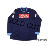 Napoli 2010-2011 3rd Long Sleeve Shirt #7 Cavani