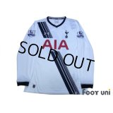 Tottenham Hotspur 2015-2016 Home Long Sleeve Shirt #10 Kane