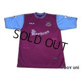 West Ham Utd 2001-2003 Home Shirt #10 Di Canio
