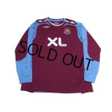 West Ham Utd 2007-2008 Home Long Sleeve Shirt #5 Ferdinand