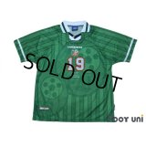 Ireland 1998-1999 Home Player Shirt #19