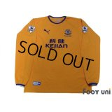 Everton 2003-2004 Away Long Sleeve Shirt #18 Rooney