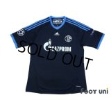 Schalke04 2010-2011 Away Shirt #7 Raul Champions League Patch/Badge Respect Patch/Badge