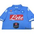 Photo3: Napoli 2014-2015 Home Authentic Shirt w/tags (3)