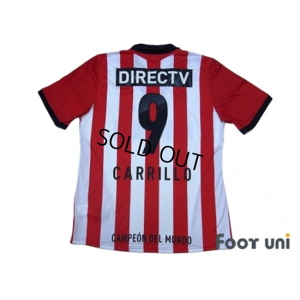 Photo2: Estudiantes 2013-2014 Home Shirt #9 Carrillo w/tags
