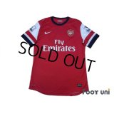 Arsenal 2012-2013 Home Authentic Shirt #11 Ozil BARCLAYS PREMIER LEAGUE Patch/Badge w/tags