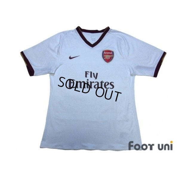 Photo1: Arsenal 2007-2008 Away Authentic Shirt