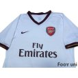 Photo3: Arsenal 2007-2008 Away Authentic Shirt (3)