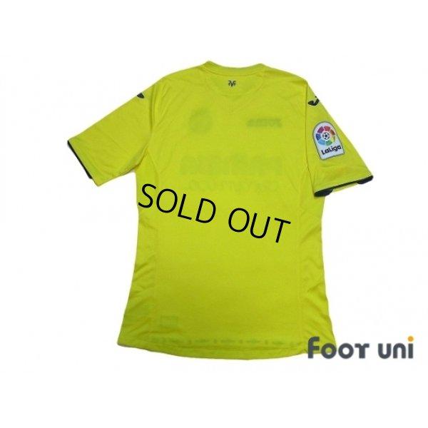 Photo2: Villarreal 2016-2017 Home Shirt La Liga Patch/Badge