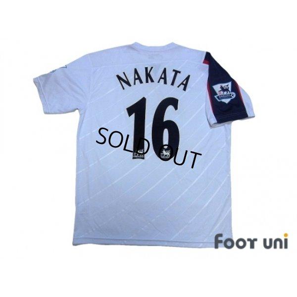 Photo2: Bolton Wanderers 2005-2007 Home Shirt #16 Nakata BARCLAYS PREMIERSHIP Patch/Badge