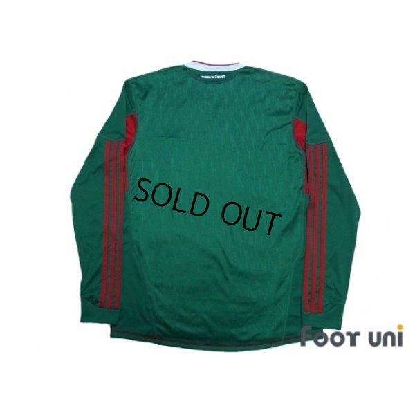 Photo2: Mexico 2010 Home Long Sleeve Shirt