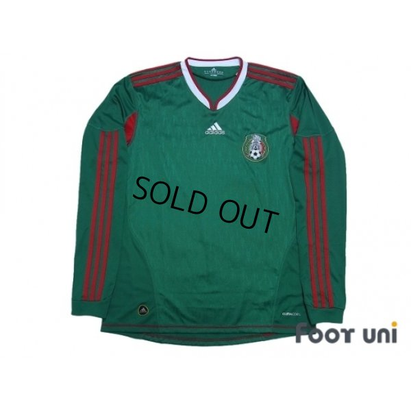 Photo1: Mexico 2010 Home Long Sleeve Shirt