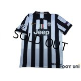 Juventus 2014-2015 Home Shirt #6 Pogba Champions League Patch/Badge w/tags