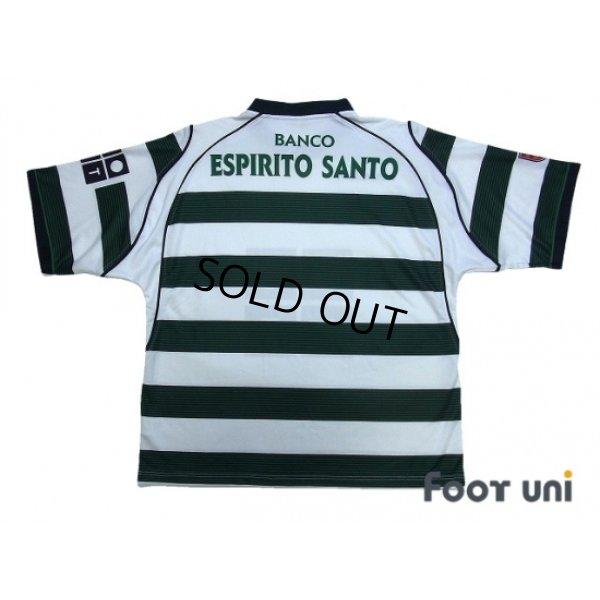 Photo2: Sporting CP 2002-2003 Home Shirt