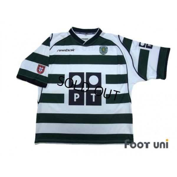 Photo1: Sporting CP 2002-2003 Home Shirt