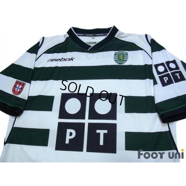 Photo3: Sporting CP 2002-2003 Home Shirt