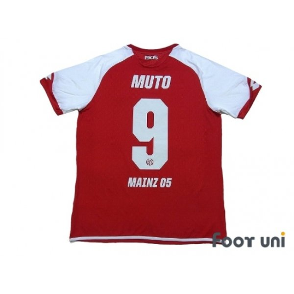 Photo2: 1.FSV Mainz 05 2017-2018 Home Shirt #9 Muto w/tags