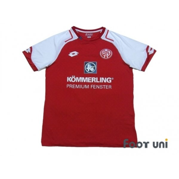 Photo1: 1.FSV Mainz 05 2017-2018 Home Shirt #9 Muto w/tags