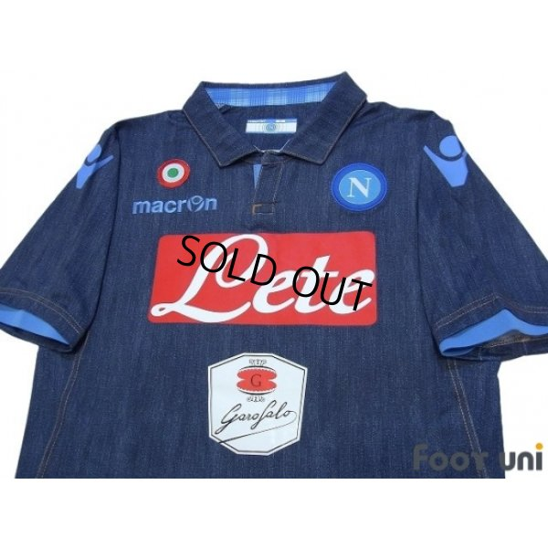 Photo3: Napoli 2014-2015 Away Authentic Shirt w/tags