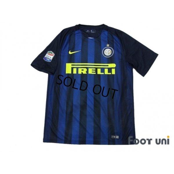 brand new 233bf 11b06 Inter Milan 2016-2017 Home Shirt #55 Nagatomo - Online Store ...