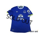 Everton 2016-2017 Home Shirt Premier League Patch/Badge w/tags