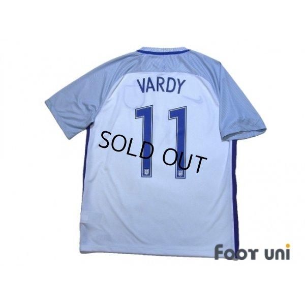 Photo2: England Euro 2016 Home Shirt #11 Vardy w/tags