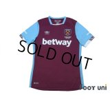 West Ham Utd 2016-2017 Home Shirt w/tags