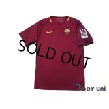 AS Roma 2017-2018 Home Shirt #10 Totti w/tags