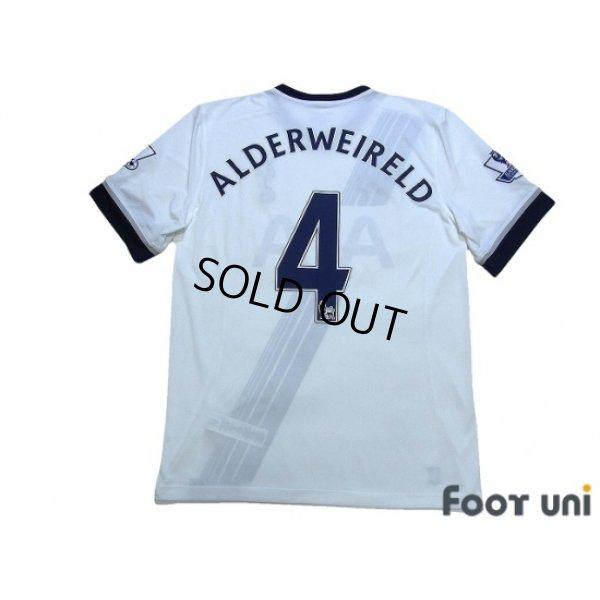 Photo2: Tottenham Hotspur 2015-2016 Home Shirt #4 Alderweireld BARCLAYS PREMIER LEAGUE Patch/Badge