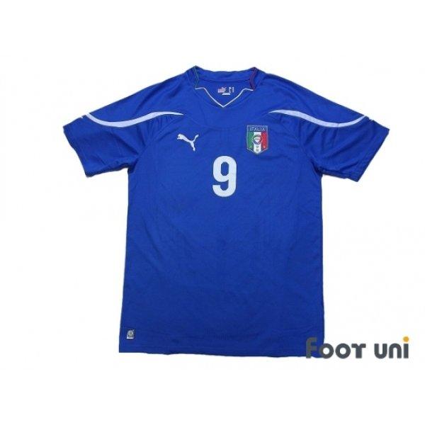 Photo1: Italy 2010 Home Shirt #9 Toni