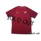 AS Roma 2017-2018 Home Shirt #16 De Rossi