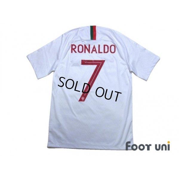 Photo2: Portugal 2018 Away Shirt #7 Ronaldo w/tags