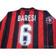 Photo4: AC Milan 1997-1998 Home Long Sleeve Shirt #6 Baresi w/tags (4)