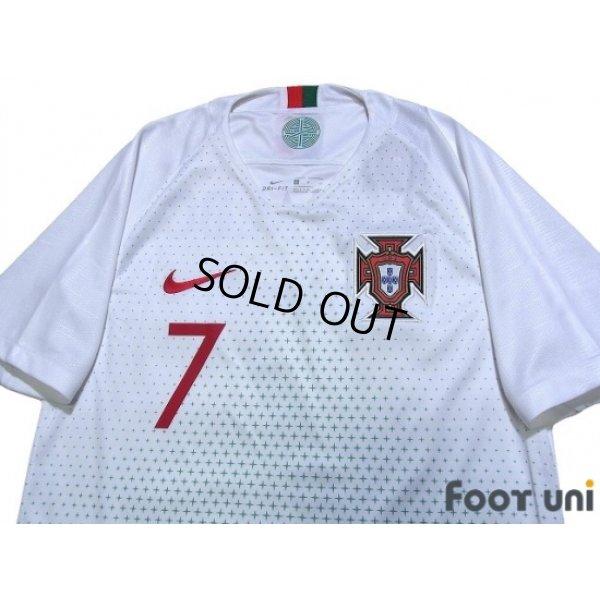 Photo3: Portugal 2018 Away Shirt #7 Ronaldo w/tags
