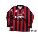 AC Milan 1997-1998 Home Long Sleeve Shirt #6 Baresi w/tags